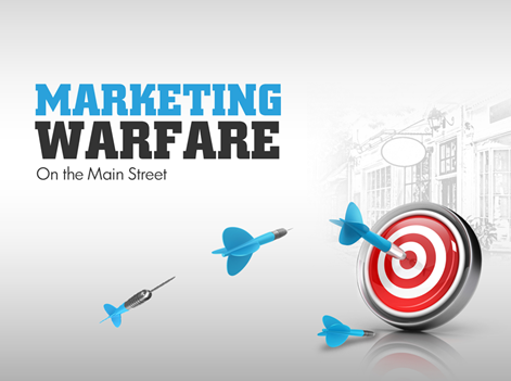 Marketing for Startups: It's like warfare,You need to fight to survive