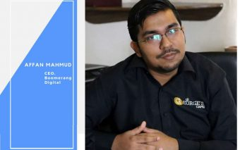 An Interview With Affan Mahmud Of Boomerang Digital [Part one]